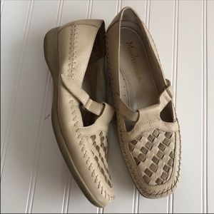 Vintage Leather Mary Jane Style Comfort Shoes 8.5